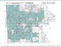 Map Image 043, Marinette County 2000